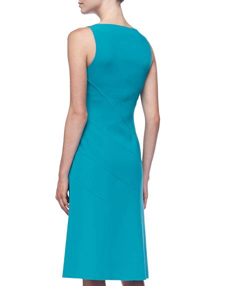 Sleeveless Panel Dress michael kors sleeveless asymmetric panel dress