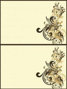 Blank Design Cards