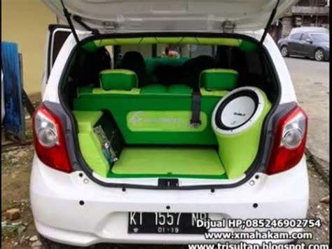 Spion Mobil Daihatsu Ayla dijual daihatsu ayla 2013 modif putih samarinda hp 085246902754 http www xmahakam