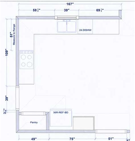 kitchen floor plans exles sle kitchen floor plans decor ideasdecor ideas