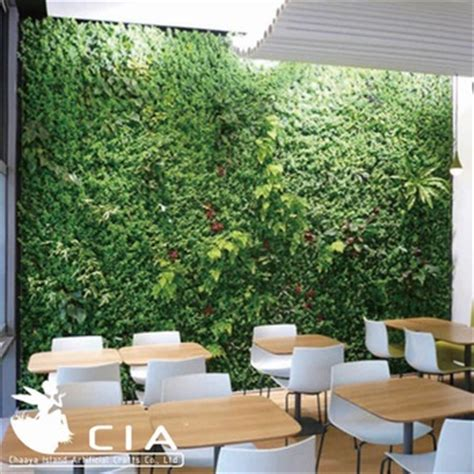 office plant decoration kl synthetic vertical green wall artificial grass wall