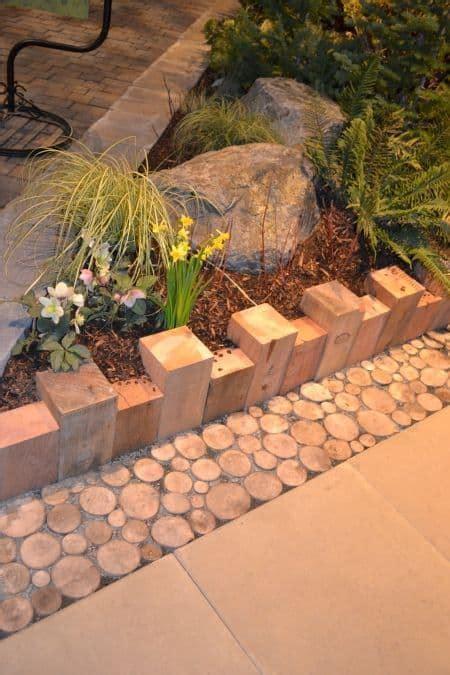 Wood Garden Edging Ideas 66 Creative Garden Edging Ideas To Set Your Garden Apart