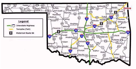 road map of oklahoma ok road map images frompo 1