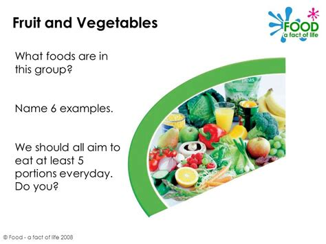 Should You Do All The Cooking by The Eatwell Plate 169 Food A Fact Of Ppt