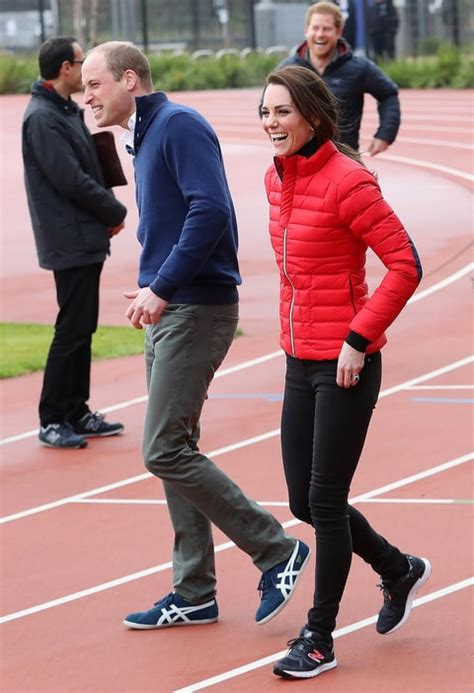 kate middleton and prince william at marathon pictures prince william harry duchess kate face off in charity