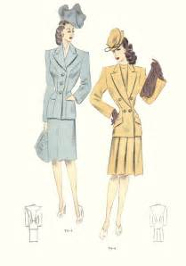 1940s fashion history with pictures 1940s fashion long hairstyles