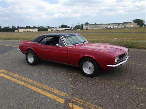 camaro muscle car classics sell used classic 1967 camaro hot rod muscle car must