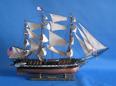 Handcrafted Ship Models - buy uss constitution limited model ship 38 inch