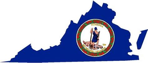 virginia state colors state nation world flags tagged quot state flag color cut