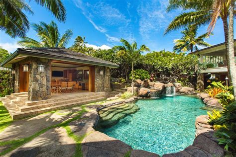 oahu luxury vacation rentals oahu beachfront villa