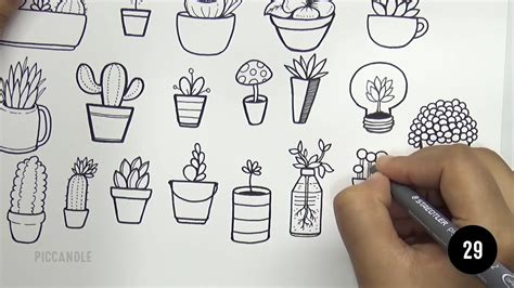doodle how to how to draw and easy succulent doodles doodle with
