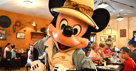 tusker house disney top 10 character dining experiences at disney world