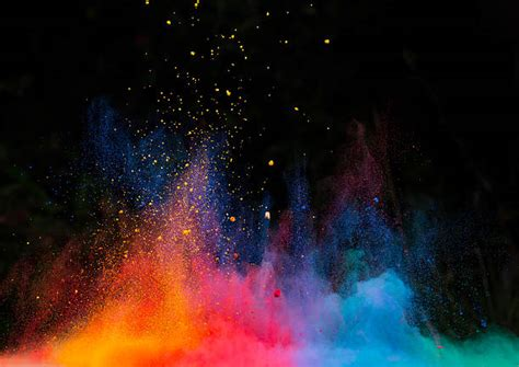 wallpaper powder free color explosion images pictures and royalty free