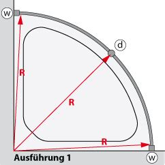Duschvorhang An Wand Befestigen 4604 by Baddesign Runde Duschvorhangstange 216 20mm F 252 R