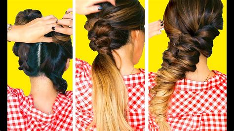 makeupwearables hairstyles youtube 3 summer hairstyles easy makeupwearables braids