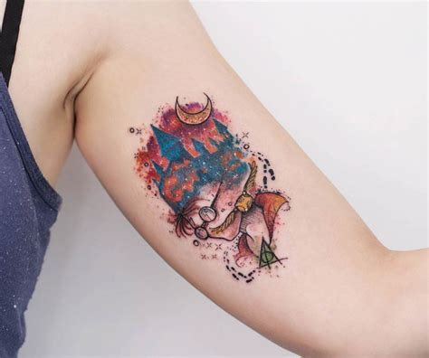 harry potter tattoo best tattoo ideas gallery