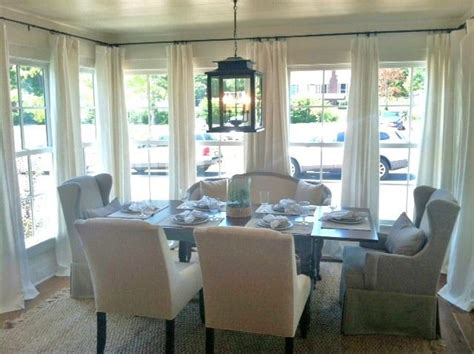 idea house pictures dining room curtains sunroom dining room lights