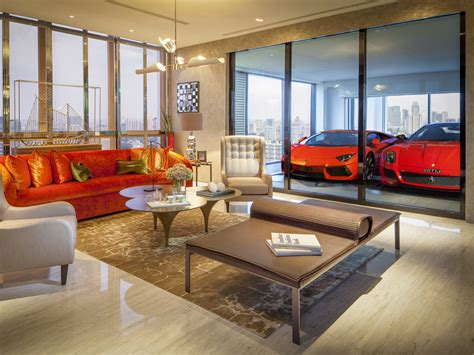 car in living room park your supercar in the living room at this crazy new