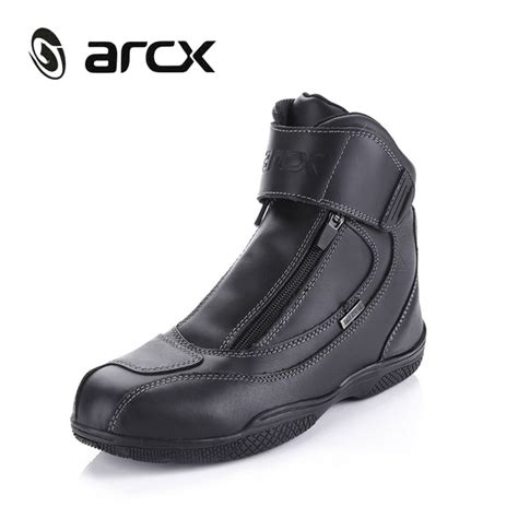 best motorcycle racing boots best arcx motorcycle boots genuine cow leather waterproof