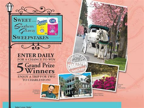 Domino Sugar Sweepstakes - domino sugar sweet southern getaway sweepstakes select states sweepstakes fanatics