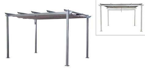 flachdach pavillon aluminium terrassen 252 berdachung lussan 3 x 4 m aluminium mit