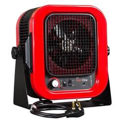 shop cadet 5 000 watt electric garage heater with