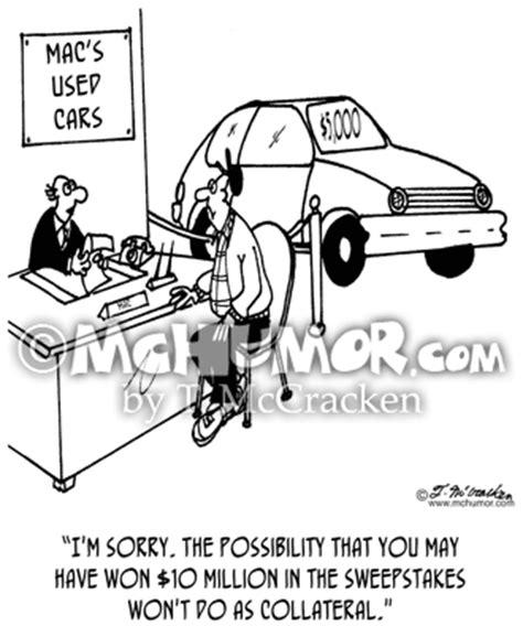 Car Dealership Sweepstakes - car car dealership cartoons