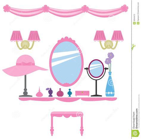 Disney Princess Bedroom Set girly wall decoration stock photography image 32944472