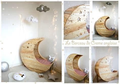 Le Berceau Lune En Bois De Palette Recycl 233 Cr 232 Me Anglaise