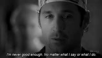 Gif quote depression sad quotes hurts grey s anatomy no matter greys