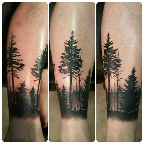 fir tree tattoo 30 tree tattoos tattoofanblog