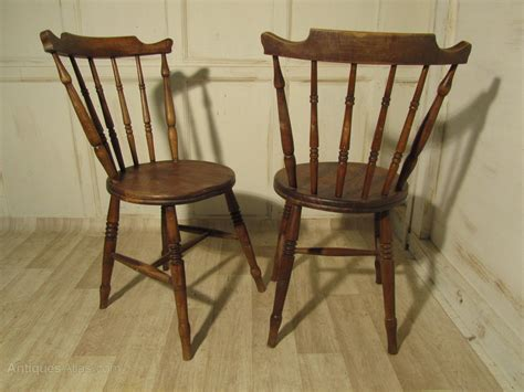 country kitchen chairs pair of beech elm country kitchen dining chairs