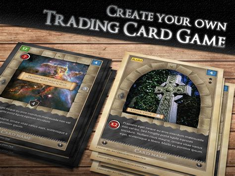 printable trading card games tcg fantasy trading card game kit in medieval on behance