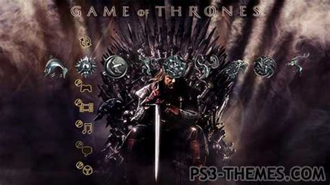 themes games of thrones ps3 themes 187 game of thrones dynamic theme