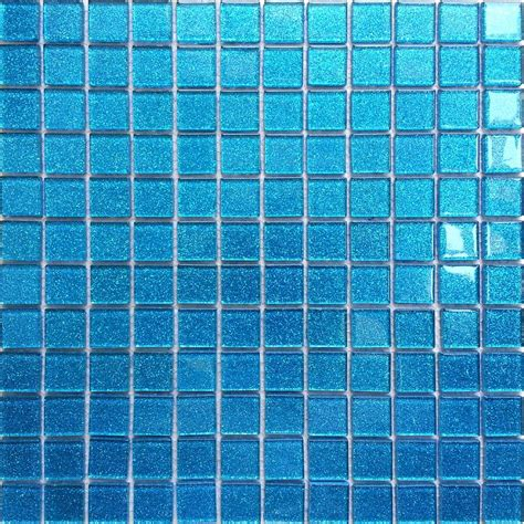 glass tiles blue glass mosaic tile sheets images
