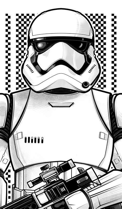 imagenes blanco y negro star wars las 25 mejores ideas sobre dibujos star wars en pinterest