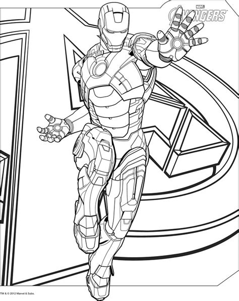 iron man symbol coloring pages free iron man symbol coloring pages