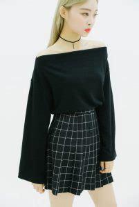 Atasan Wanita Sabrina Ruffle Horizontal Stripes 30 model baju wanita ala korea wajib kamu coba klubwanita