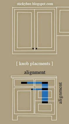 where to place knobs on kitchen cabinet doors 1000 ideas about cabinet hardware on pinterest outdoor