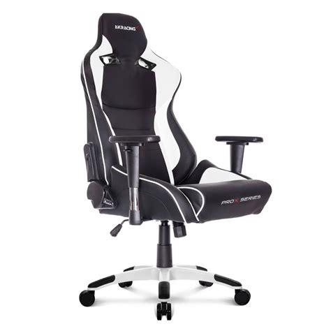 siege de bureau gaming akracing prox fauteuil gamer noir blanc si 232 ge gamer