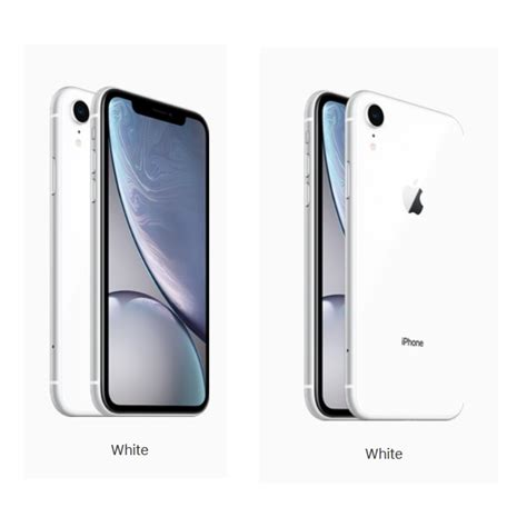 apple iphone xr gbwhite black blue yellow coral