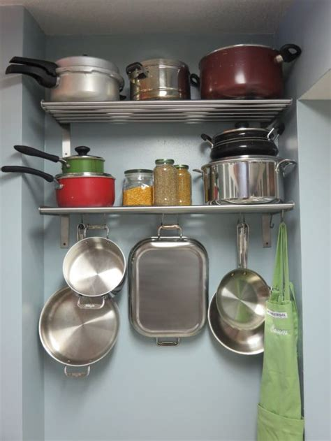 Pots And Pans Storage Pots And Pans Storage Kitchen