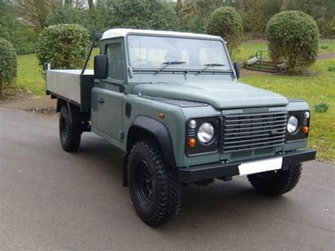 land rover truck for sale 2006 land rover defender 110 td5 tipper truck for sale