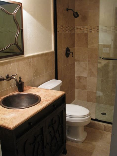Fixtures For Small Bathrooms Traditional Bathroom With Bronze Fixtures Home Design Exles