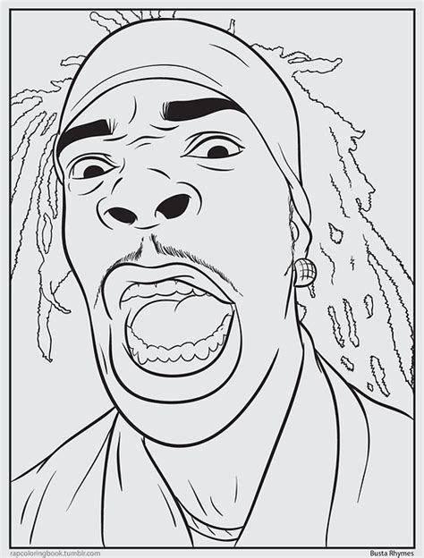 coloring book rapper psychology rap coloring book