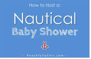 Mason Jar Baby Shower Centerpieces Nautical Baby Shower Ideas Peachfully Chic