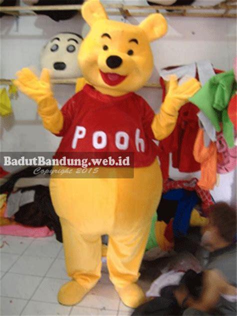 Sarung Gajah Bima kostum badut winnie the pooh