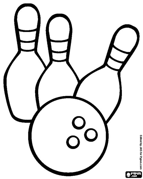 coloring pages bowling balls pins strike bowling pin coloring page pictures to pin on