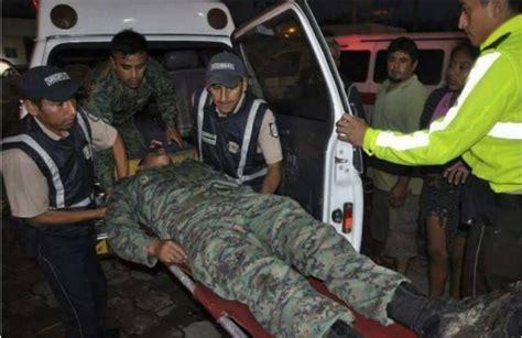 noticias militares noticias militares dos militares ecuatorianos heridos tras ataque de