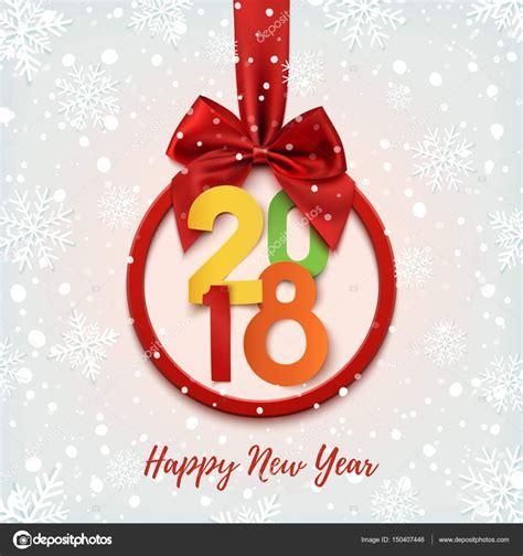 colorful happy new year 2018 happy new year 2018 colorful banner stock vector